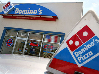 Shades of Fifty Shades? See Domino's Racy S&M-Themed Pizza Ad