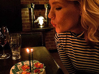 January Jones Wins 37th Birthday with Impressive Feast | January Jones