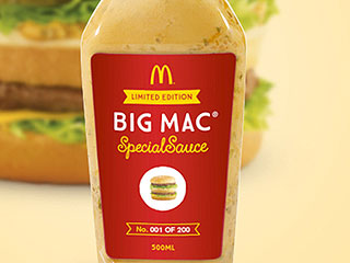 McDonald's Is Selling Its Big Mac Special Sauce for $18K a Bottle