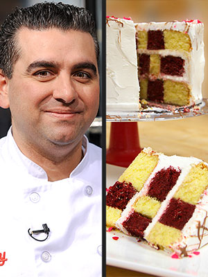 Buddy Valastro Checker Cake