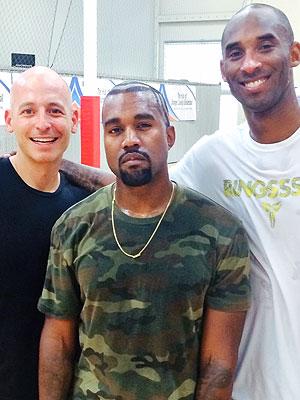 Kanye West, Kobe Bryant, Harley Pasternak