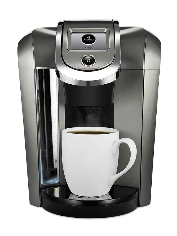 Coffee Maker Person Called : Keurig K-Cup Hack; Freedom Clip; Brew Unapproved Single Coffee Pod - Great Ideas : People.com