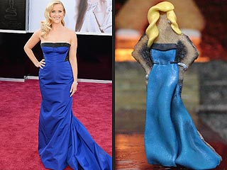 Watch These Oscar Gown Cookies Walk a Fashionable, Edible Runway | Reese Witherspoon
