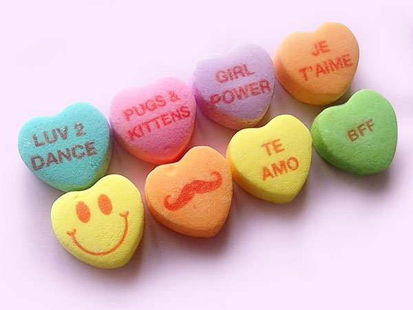 Sweethearts Candy, New Conversation Hearts Sayings, Necco ...