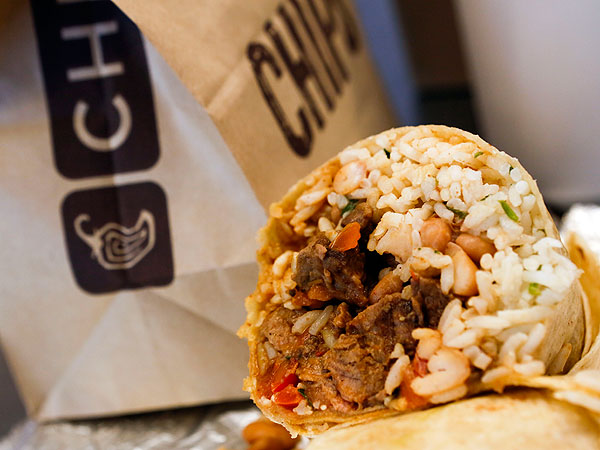 Chipotle Is Actually Unhealthy Calories Fat In Chipotle Meals