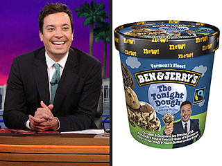 Ben & Jerry's Unveils New Celebrity Flavor for Jimmy Fallon – Again!