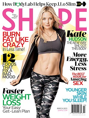 Kate Hudson Shape