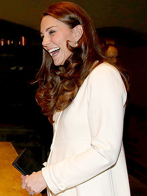 Kate Middleton at Downton Abbey