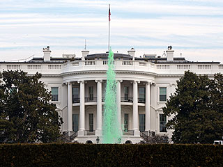 See How the White House – and President 'O'Bama' – Celebrated St. Patrick's Day