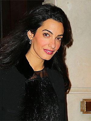 Amal Clooney/Lamb's Club