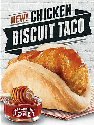 Biscuit Taco