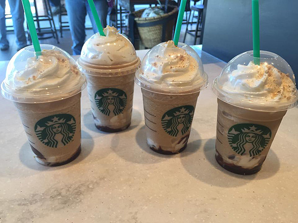Starbucks Smores Frappuccino