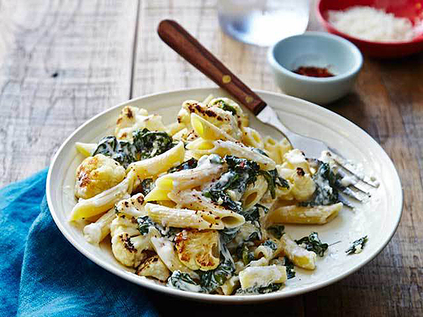 Pasta Smothered With Roasted Vegetables- An Easy Recipe For Weeknights ...