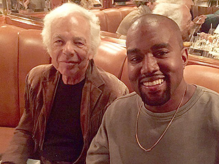 Kim Kardashian, Kanye West & Krew Have Dinner at Polo Bar in N.Y.C.