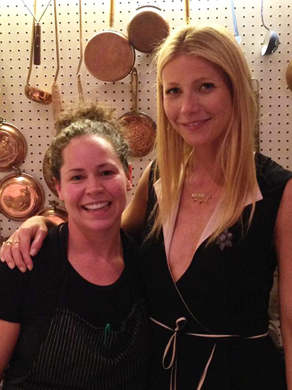 Gwyneth Paltrow, Stephanie Izard Little Goat