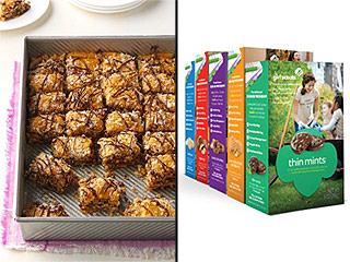 These Samoa Caramel Bars Won the First Girl Scouts Cookie Contest – Get the Recipe