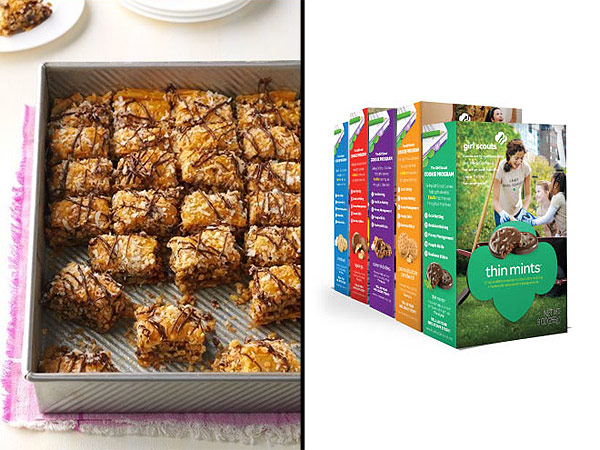 These Samoa Caramel Bars Won the First Girl Scouts Cookie Recipe Contest