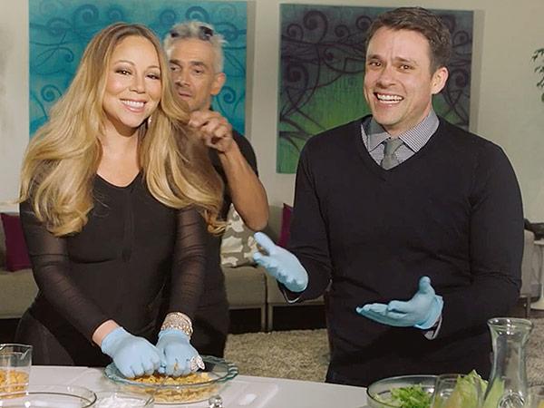 Cooking with Mariah Carey