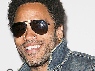 Lenny Kravitz Brunches on Pizza, Meets Jeremy Piven For Dinner in N.Y.C.