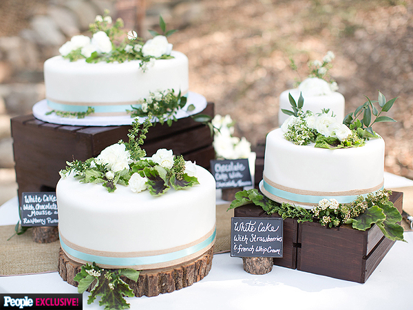 Heather Morris: Glee Star\'s Rustic Wedding Cake (Photos) - Great ...