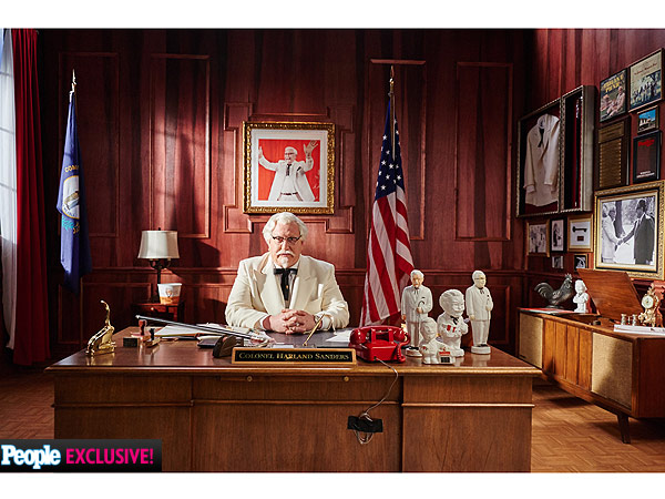 SNL Alum Darrell Hammond Plays Colonel Sanders in New KFC Ads (PHOTOS)