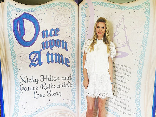 nicky hilton celebrates her upcoming wedding with a fairy tale bridal shower photos
