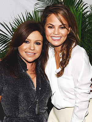 Chrissy Teigen, Rachael Ray, and Emeril Lagasse