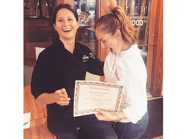 Minka Kelly Graduates From Culinary School, See Her