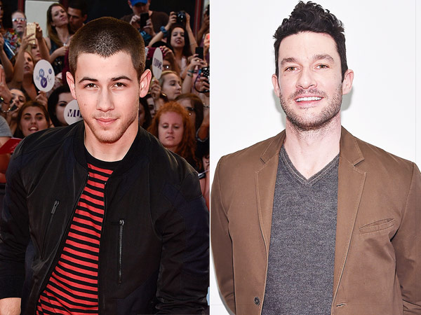 Nick Jonas and Sam Talbot