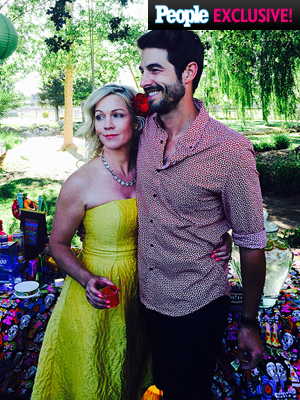 Jennie Garth Wedding Rehearsal Dinner