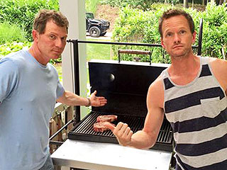 Neil Patrick Harris' 'Wowza' Birthday Gift: Grilling Lessons from Bobby Flay (PHOTO)