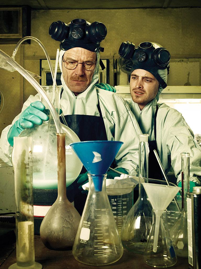 Walter White (Bryan Cranston) and Jesse Pinkman