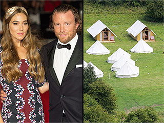Guy Ritchie and Jacqui Ainsley Continue Celebrity Wedding 'Glamping' Trend