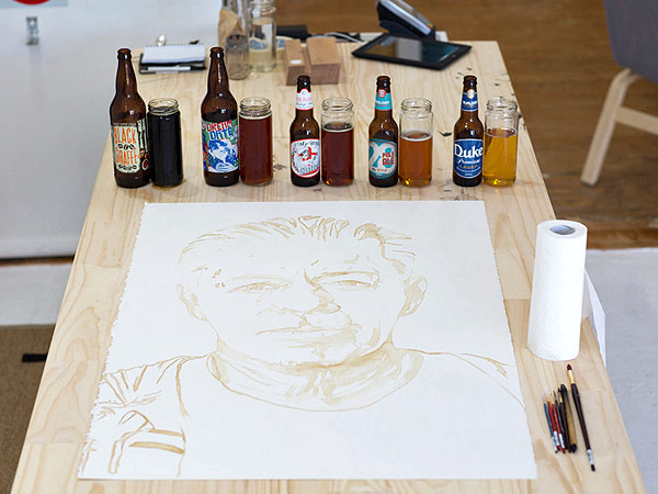 Beer Portrait