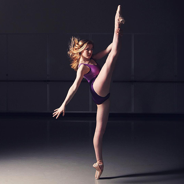 Gigi Crouch Ballerina with Scoliosis