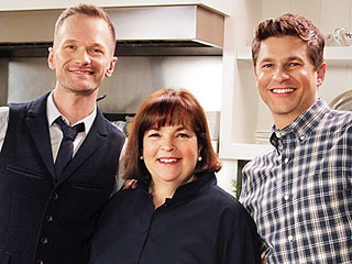 Watch Neil Patrick Harris and David Burtka Get in the Kitchen with Ina Garten