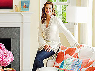 Take a Look Inside Brooke Shields' Colorful New York Cottage (PHOTOS)