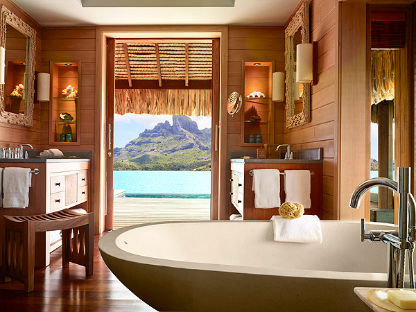 Bora Bora Four Seasons Resort Inside