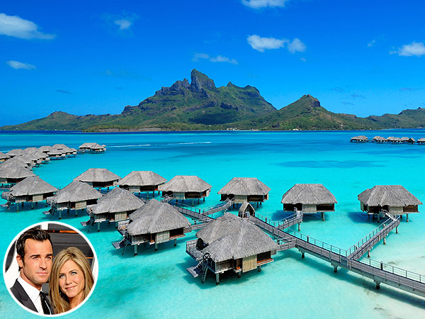 Jennifer Aniston and Justin Theroux's Honeymoon resort