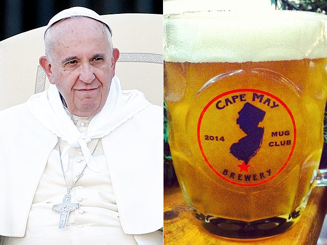 Pope Francis / https://instagram.com/capemaybrewco