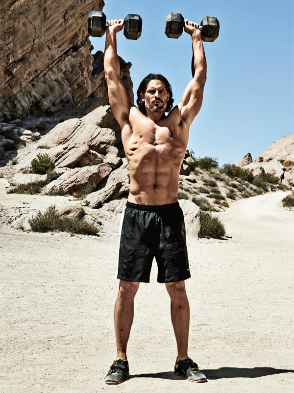 Joe Manganiello Talks Fitness Regimen In New Muscle And