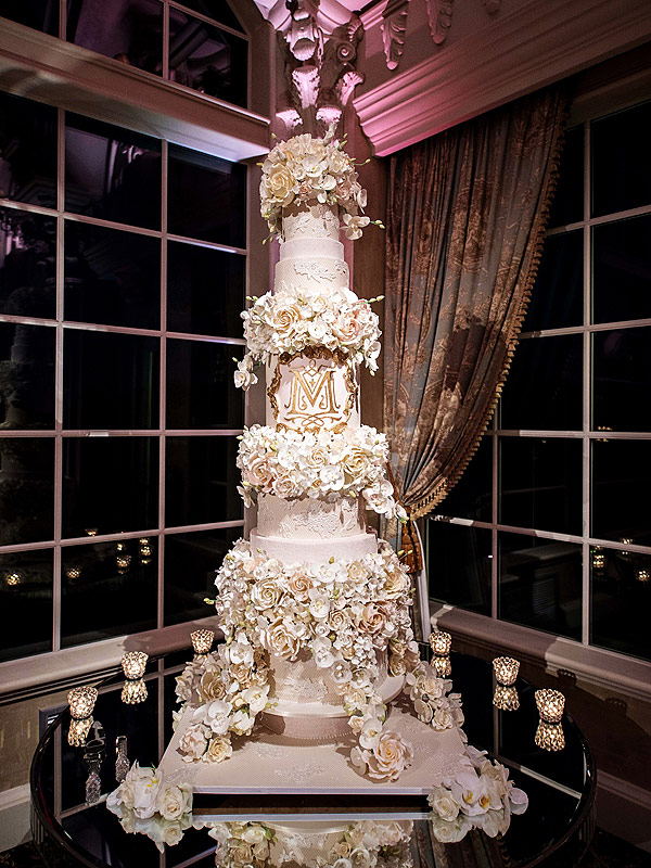 Tracy Morgan Wedding Cake See The 5 Foot Tall Stunner