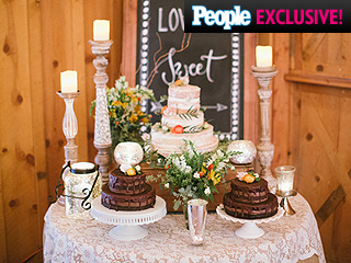 How Amy Purdy Chose Her 'Rustic' Wedding Cake (Photos)