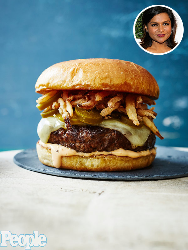 The mindy burger