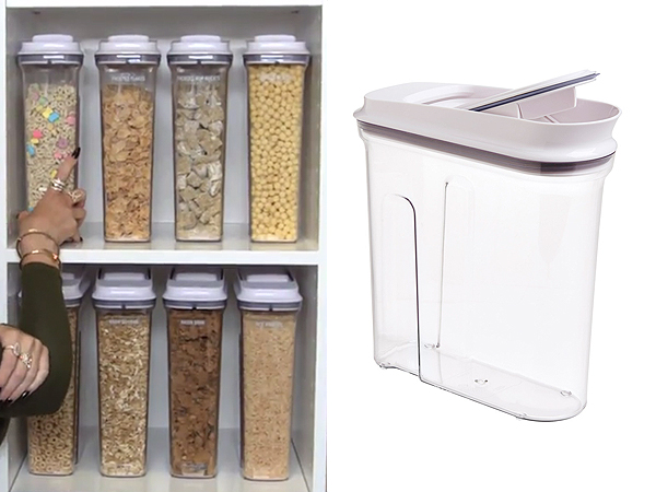 Khloe Kardashian Cookie Jar Gorgeous Khloe Kardashian Get The Look Of Her Super Organized Home Pantry