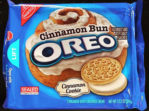 Cinnamon Bun Oreos Are Coming Soon Great Ideas People Com