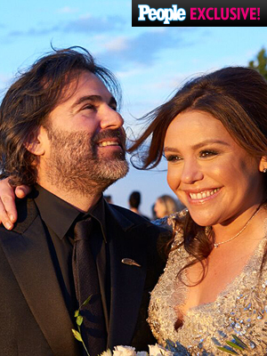 Rachael Ray wedding vow renewal