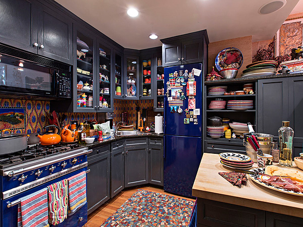 Rachael Ray New York City Apartment Cozy Kitchen Photos