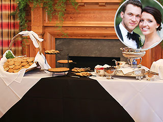 All About the Stunning Cake and Southern Food at Phillip Phillips' Wedding (Mashed Potato Bar Included!)