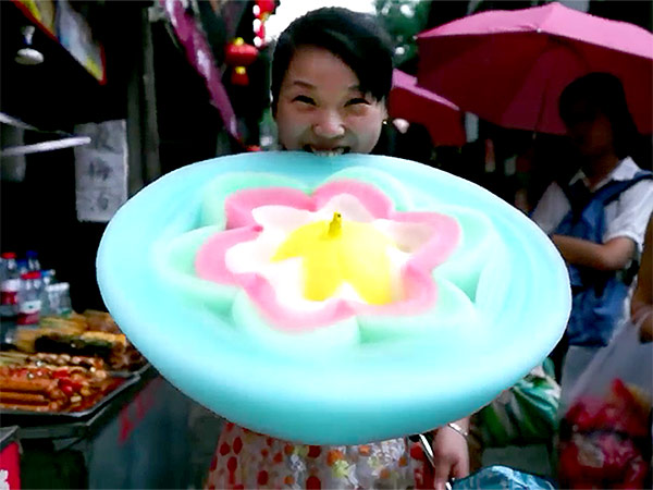 Chinese Cotton Candy Flowers The Most Beautiful Junk Food Ever